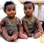Diddy's Twins D'lila Star and Jessie James in US Magazine