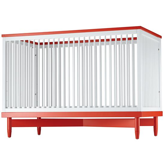 ducduc for nod Oslo Orange Crib