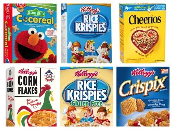 ewg low sugar cereal list