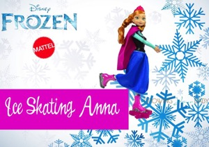 Hit the Ice With Frozen's Skating Anna Doll!{VIDEO}