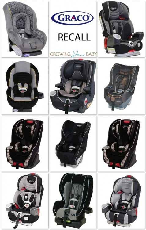 Graco Buckle Recall >> Graco Issues Harness Buckle Recall For 3.8 Million Car Seats : Growing Your Baby