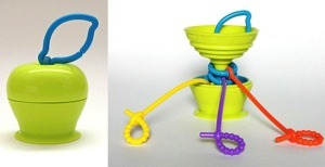 Grapple Toy Tether Keeps Your Kids Toys Close & Clean!