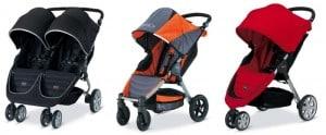 image of recalled Britax stroller 2014
