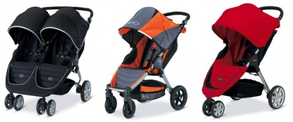 image of recalled Britax stroller 2014