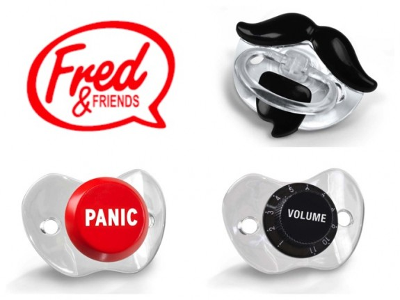 image of recalled Fred & Friends infant pacifiers