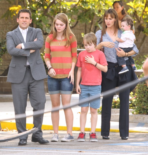 Stars On The Set Of 'Alexander and the Terrible, Horrible, No Good, Very Bad Day'