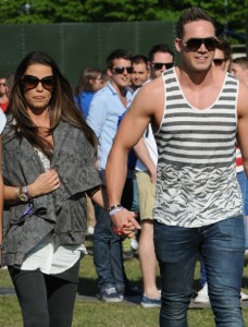 Katie Price at As One In The Park