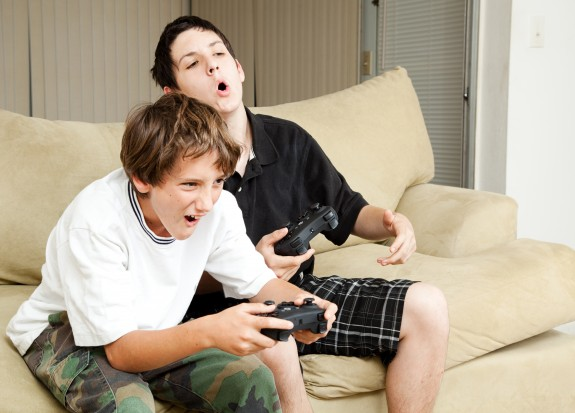 Video Gamers - Intensity