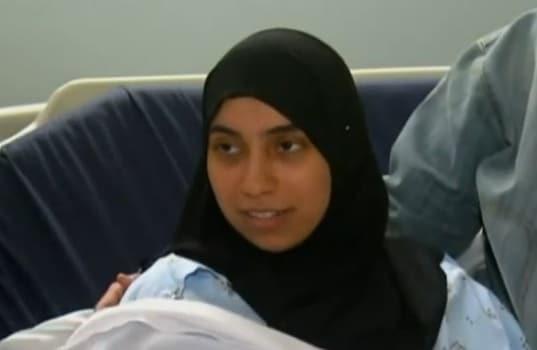 new mom Inam Alghoul