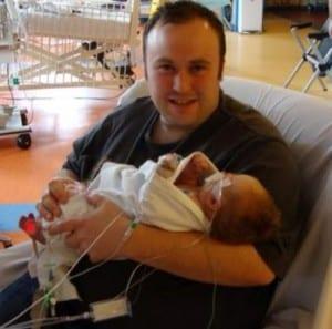 newborn Hannah Erskine