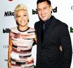 pink and Carey Hart at Billboard Awards