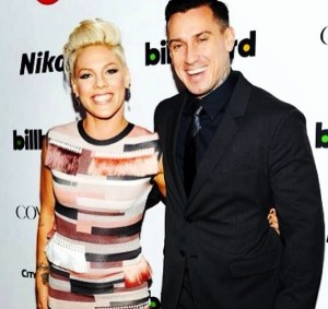pink and Carey Hart at Billboard Awards