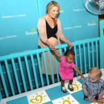 pregnant Ali Larter at the Pampers event NYC