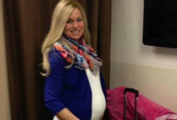 pregnant Athena Krueger