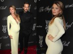 pregnant Blake Lively with husband Ryan Reynolds at Angel's Ball in NYC