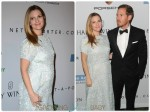 pregnant Drew Barrymore and Will Kopelman at Baby2Baby gala