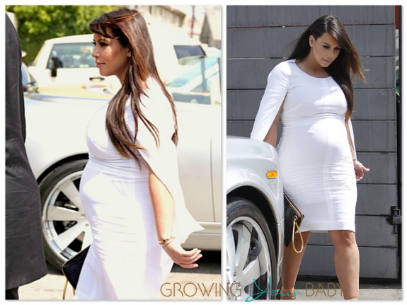 pregnant Kim Kardashian lunches with Kris Jenner in LA