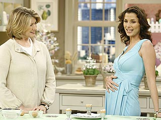 Bridget Moynahan Talks to Martha About Her Pregnancy