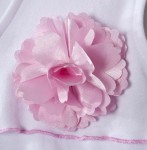 recalled HALO® SleepSack® Wearable Blankets w: Pink Satin Flowers