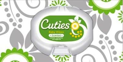 recalled cuties baby wipes