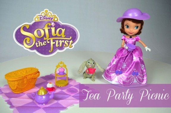 sophia the first tea party picnic