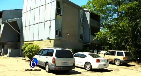 teen Austin Konopacki catches baby who feel from this building