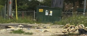 teen abandons baby by dumpster