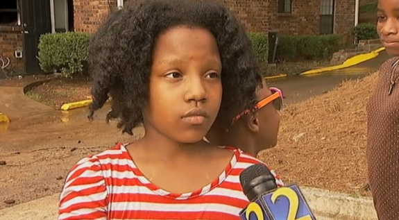 ten-year-old hero Zna Gresham