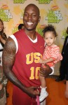 Tyrese Gibson and daughter Shayla