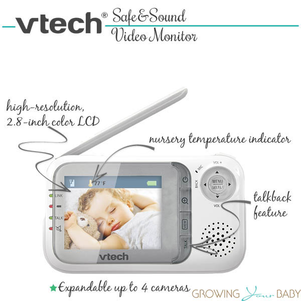 vtech safe&sound video monitor