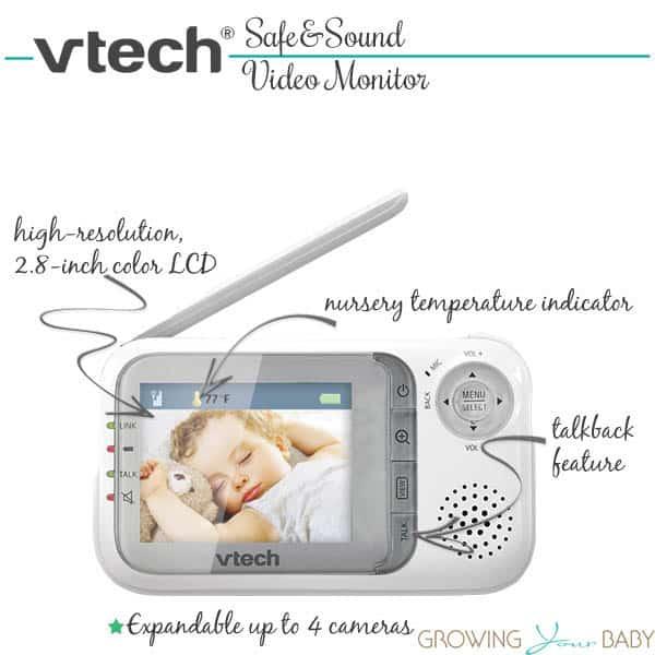 vtech safe&sound video monitor